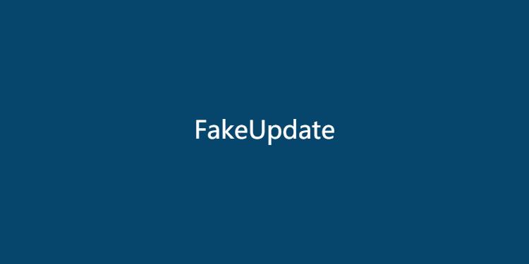 FakeUpdate-假装 Windows 升级界面