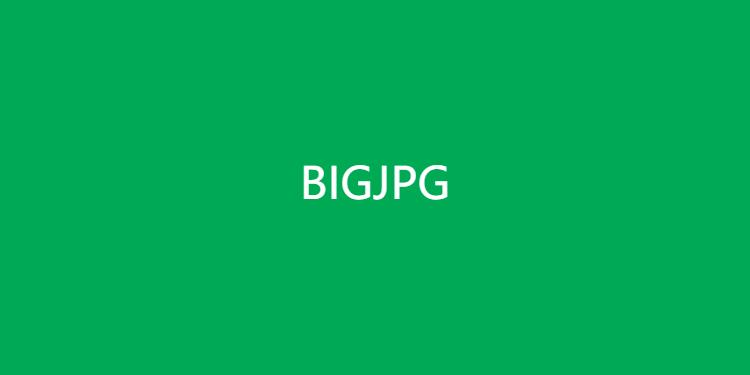 Bigjpg-人工智能图片放大