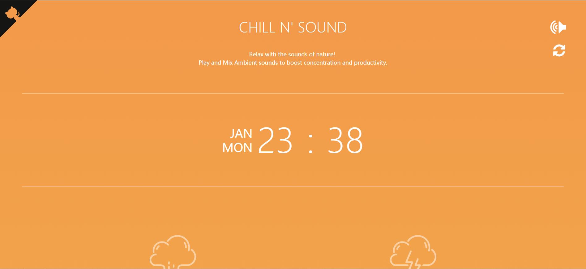 CHILLNSOUND:聆听大自然的声音
