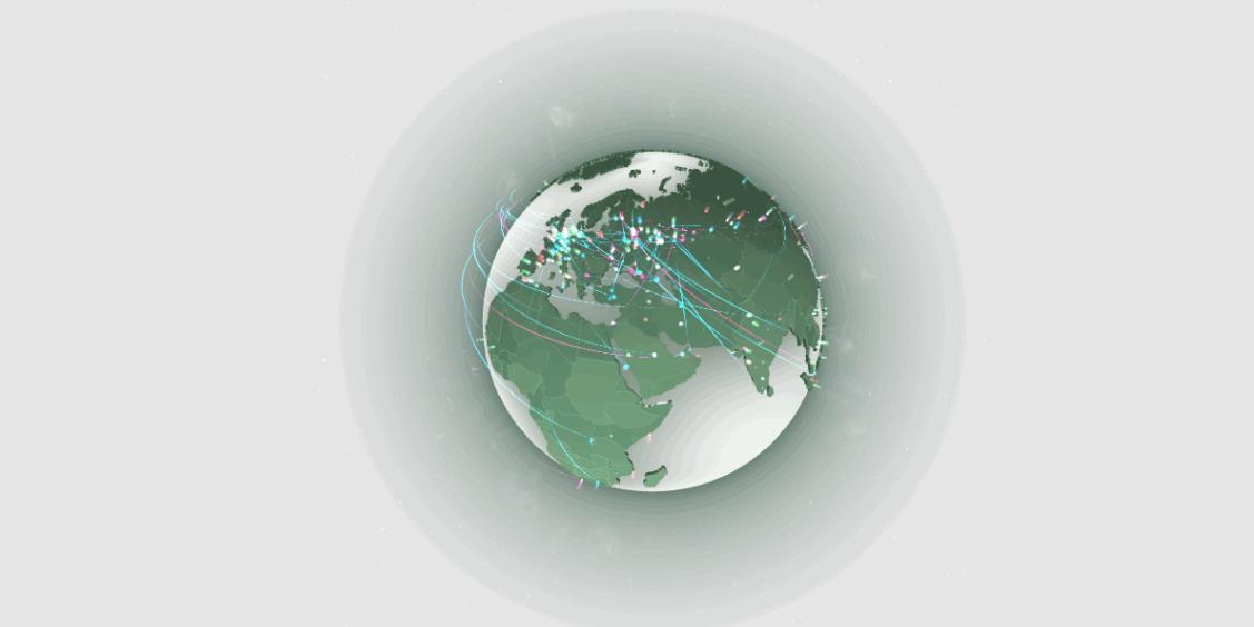 kaspersky-网络威胁实时地图