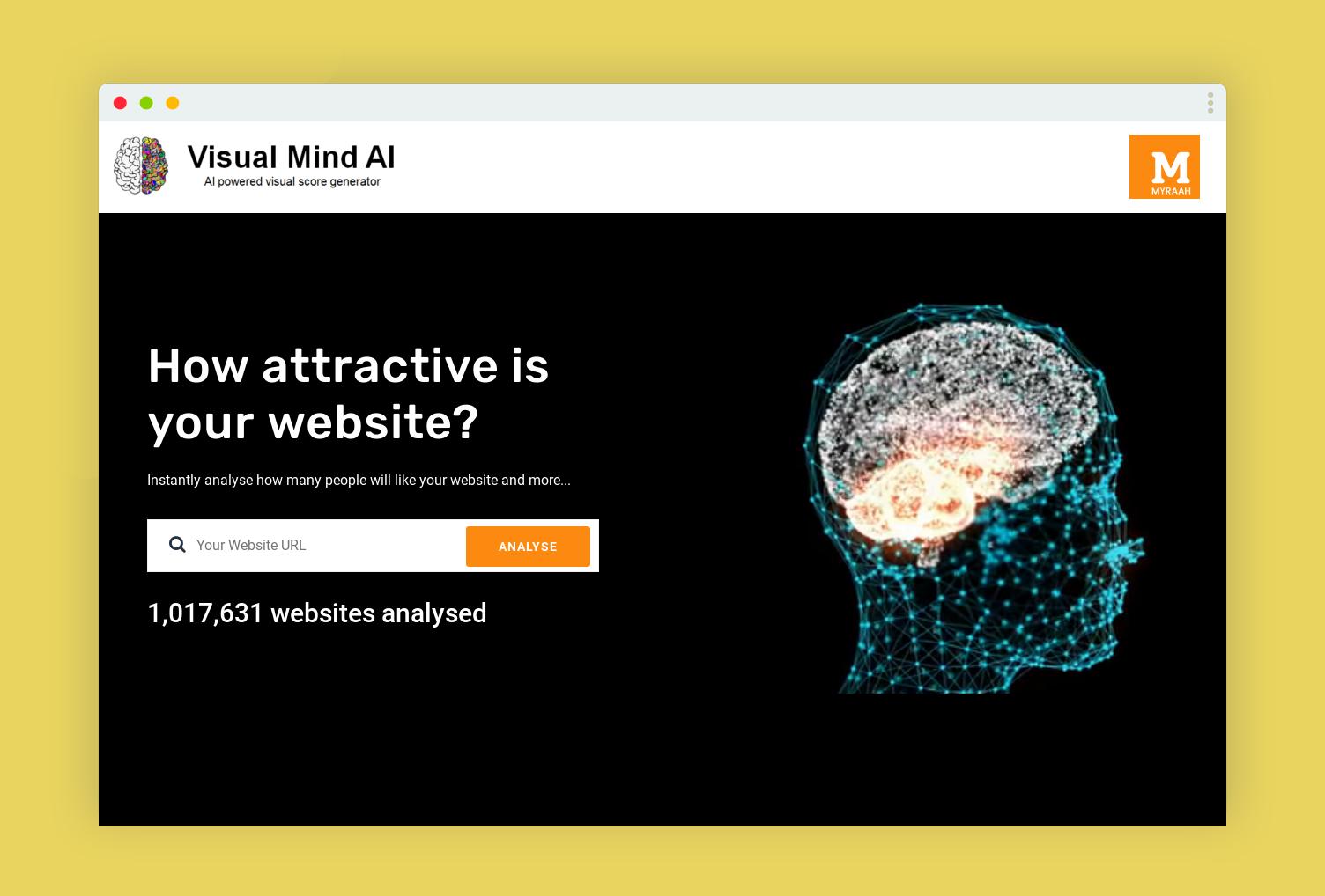 VisualMind,AI智能分析网站受欢迎度-爱资源网 , 专注分享实用软件工具&资源教程
