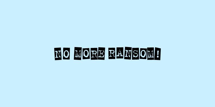 Nomoreransom-拒绝勒索软件